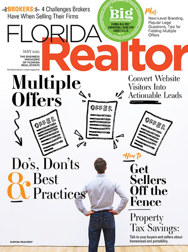 Florida Realtor magazine May 2021 cover
