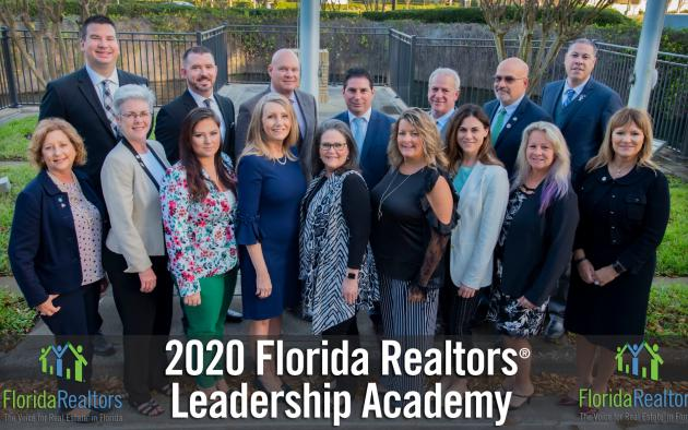 Group photo of 2020 Leadership Academy participants