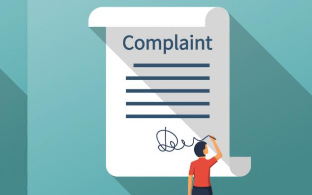 filing a complaint illustration