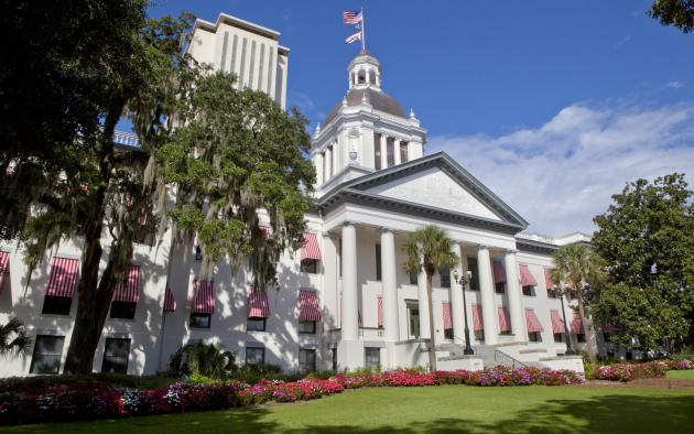 florida state capitol building in tallahassee