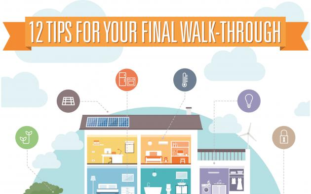 12 TIPS FOR YOUR FINAL WALK-THROUGH