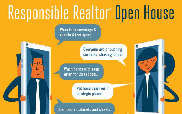 Responsible Realtor Open House infographic
