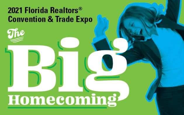 "2021 Florida Realtors Convention & Trade Expo ""Save the Date"""