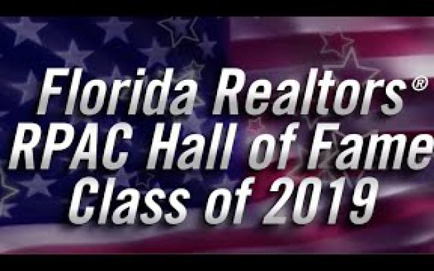 Meet Florida Realtors' 2019 RPAC Hall of Fame Inductees