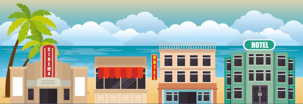 florida commercial property illustration