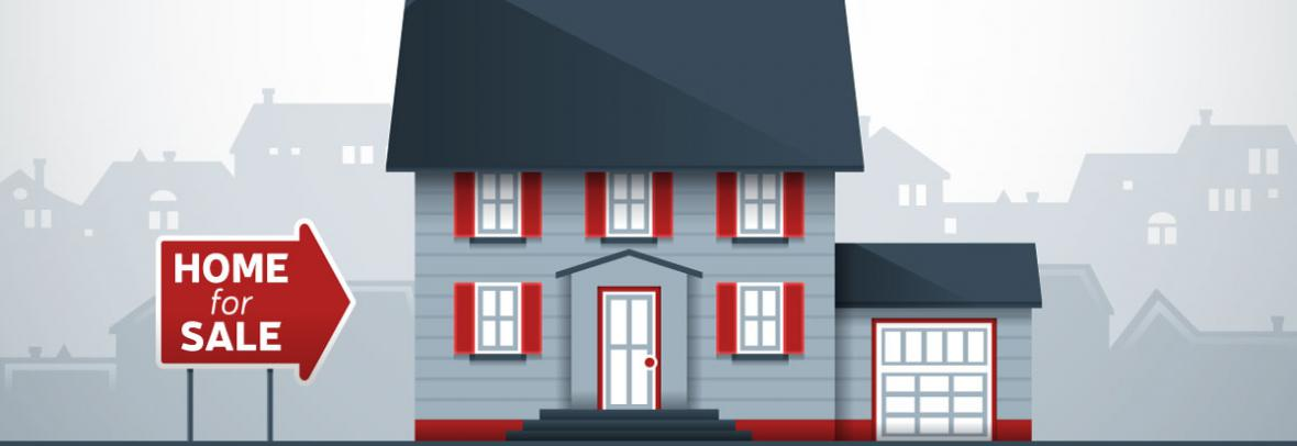 home for sale illustration