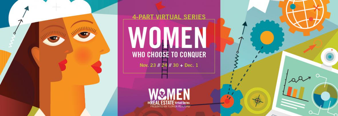 4-part women who choose to conquer convention illustration