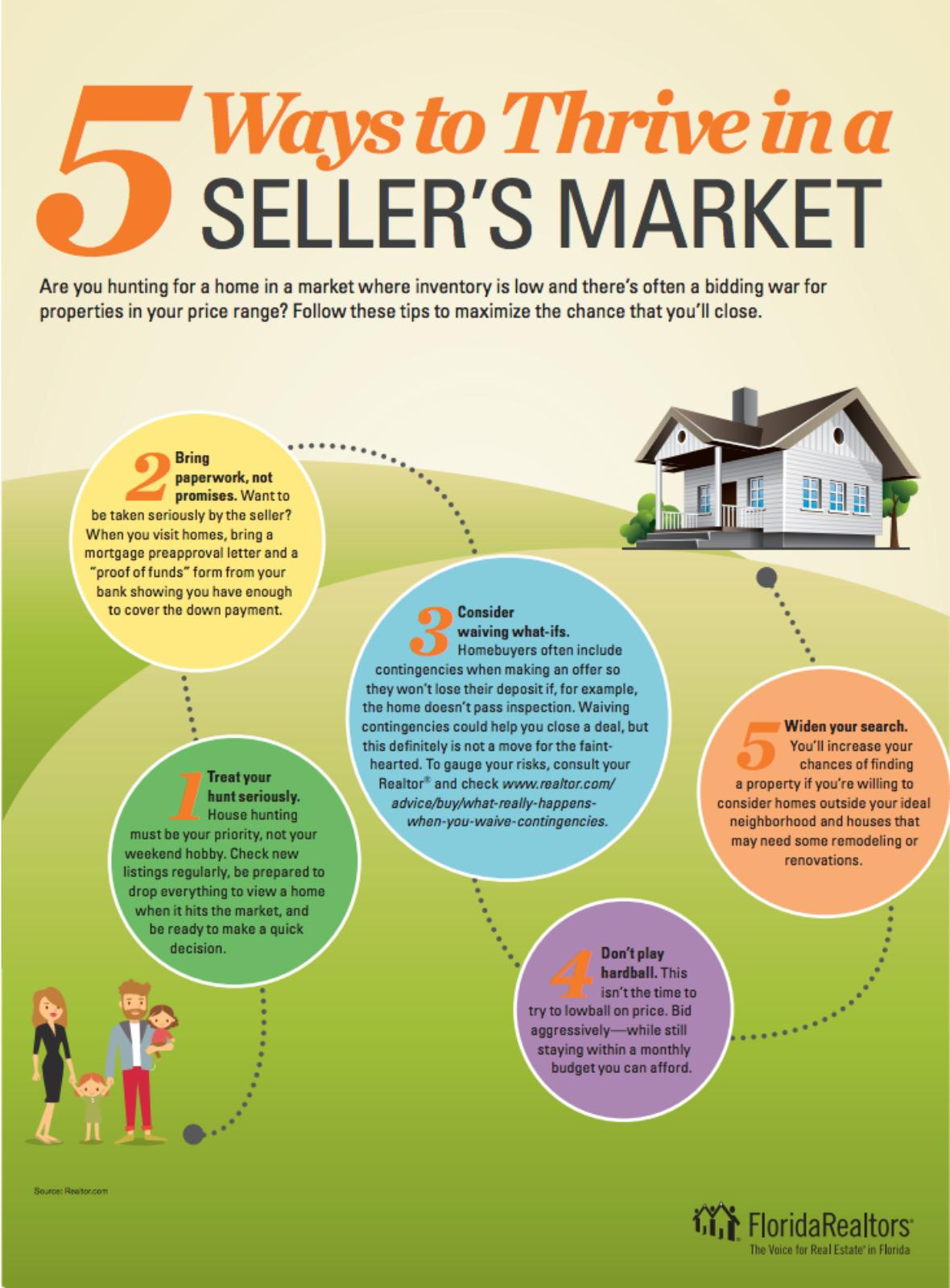 thrive in a seller's market