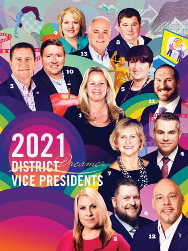 Photo of 2021 District Vice Presidents